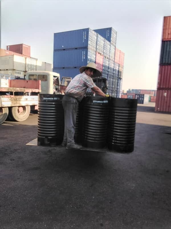 import of bitumen from middle east